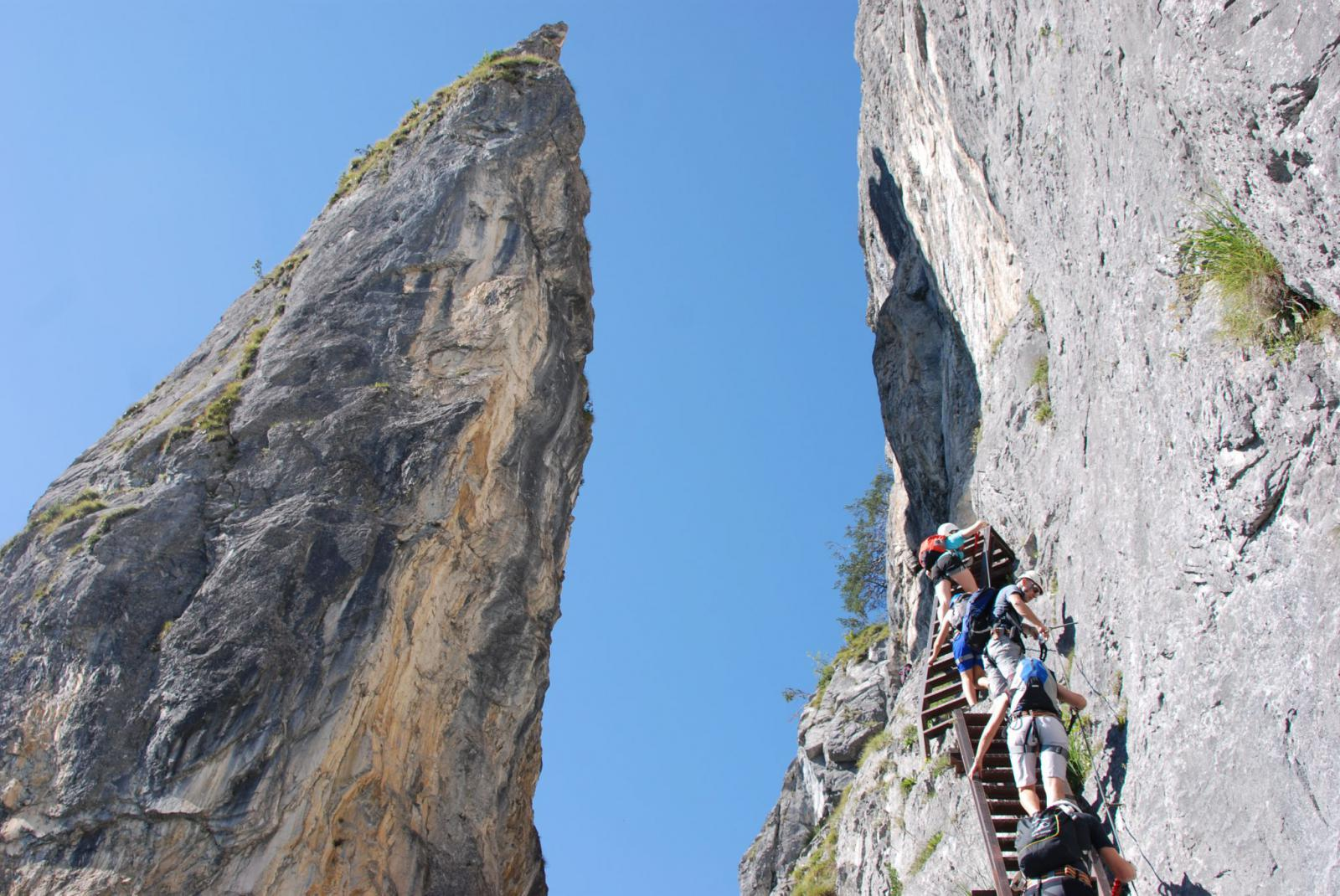 Klettersteig Piz Trovat : Sommer klettersteige mountain fantasy